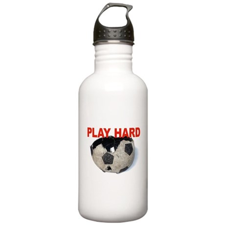 PLAY HARD soccerball Stainless Water Bottle 1.0L