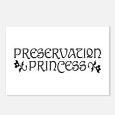 Preservation Princess Postcards (Package of 8)