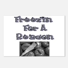 Freezin for a Reason Postcards (Package of 8)
