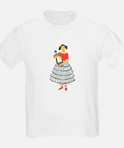 Clara in her Party Dress T-Shirt