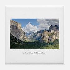 Yosemite Valley Tile Coaster