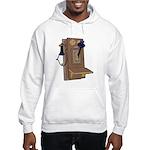 Old Crank Wall Phone Hooded Sweatshirt