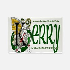 Kerry Celtic Dragon Rectangle Magnets (10 pack)