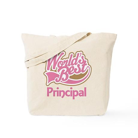 Worlds Best Principal Tote Bag