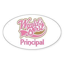 Worlds Best Principal Decal