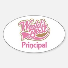 Worlds Best Principal Decal