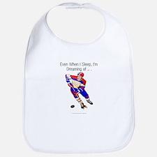 TOP I'm Dreaming of Hockey Bib