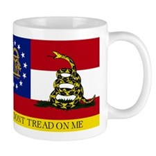 Dont Tread on Me Georgia Flag Mug