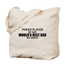 World's Greatest Dad - Poker Player Tote Bag