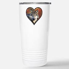 Wolf Heart Travel Mug