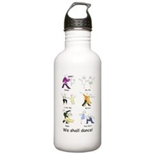 Ballroom Dancers Water Bottle
