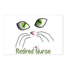 Retired Nurse Postcards (Package of 8)