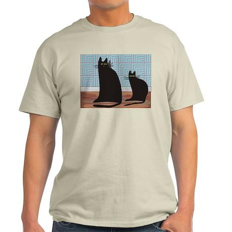 Cat Art Light T-Shirt