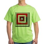 Shattered Dreams Green T-Shirt