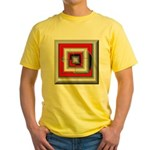 Shattered Dreams Yellow T-Shirt