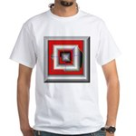 Shattered Dreams White T-Shirt