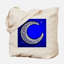 The Celtic Moon Tote Bag