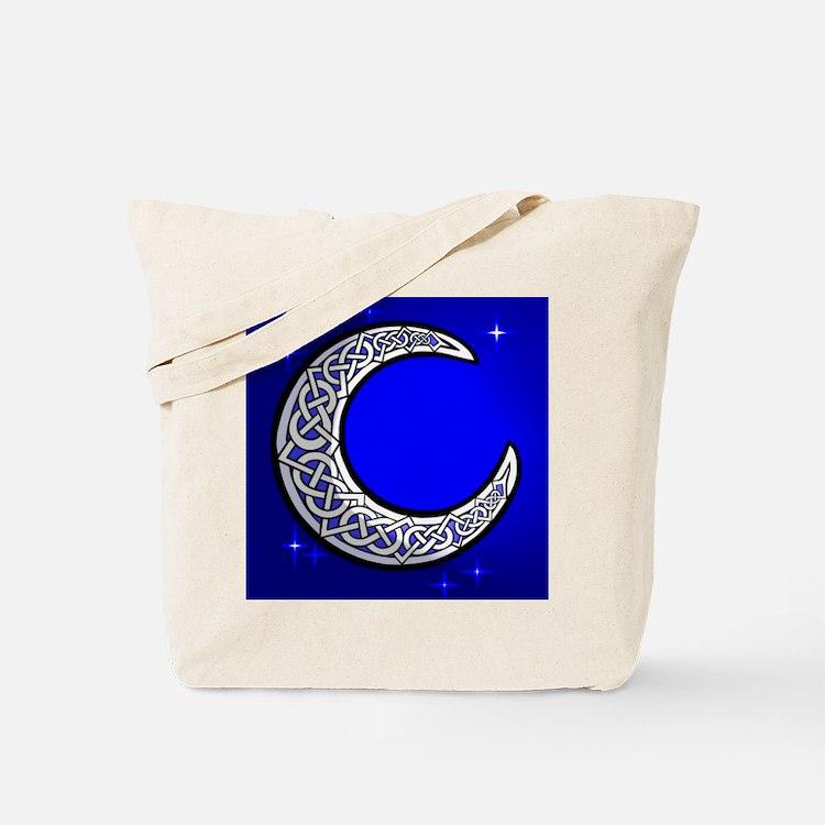 The Celtic Moon Tote Bag