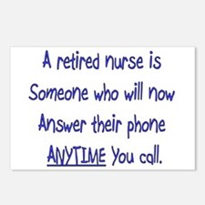 Retired Nurse Postcards (Package of 8)