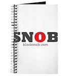 SNOB Red Logo Journal