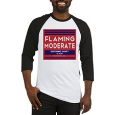 Flaming Moderate Baseball Jersey