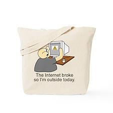 Cute Firefox Tote Bag