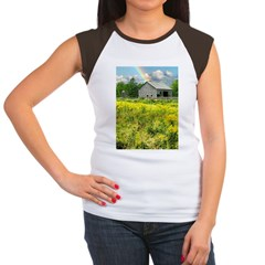 Old Barn Women's Cap Sleeve T-Shirt