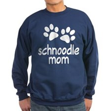 Cute Schnoodle Mom Sweatshirt