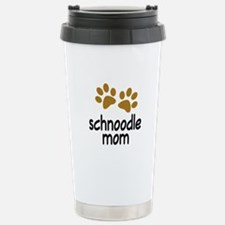 Cute Schnoodle Mom Travel Mug
