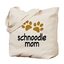 Cute Schnoodle Mom Tote Bag