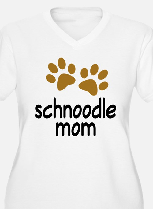 Cute Schnoodle Mom T-Shirt