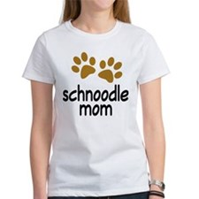 Cute Schnoodle Mom Tee
