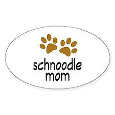 Cute Schnoodle Mom Bumper Stickers