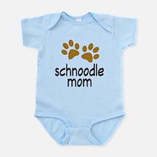 Cute Schnoodle Mom Infant Bodysuit