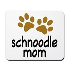 Cute Schnoodle Mom Mousepad