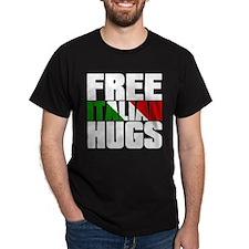 Free Italian Hugs T-Shirt