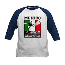Mexico World Soccer Fútbol Tee