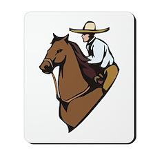 Retro Cowboy Mousepad