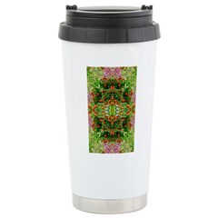 Flower Garden Carpet 3 Stainless Steel Travel Mug