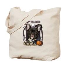 Halloween Nightmare Frenchie Tote Bag