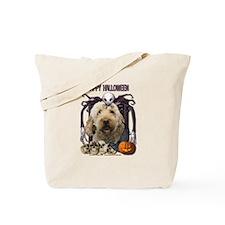 Halloween Nightmare Doodle Tote Bag