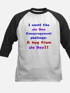 Jo Encouragement Package Kids Baseball Jersey