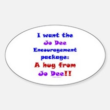 Jo Encouragement Package Sticker (Oval)