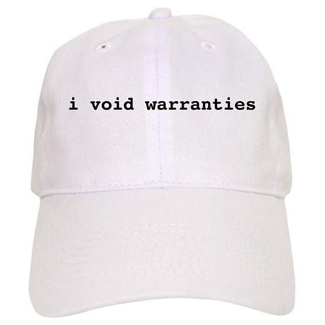 I void warranties Cap