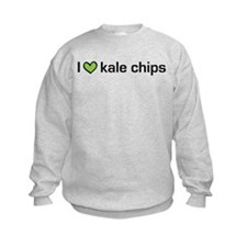 I heart kale chips Sweatshirt