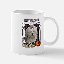 Halloween Nightmare - Lowchen Mug