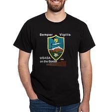 2-BorderSitesTshirtBlack T-Shirt