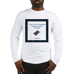 Longfellow Quote Long Sleeve T-Shirt
