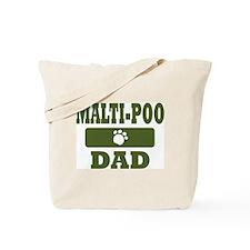 Malti-Poo Dad Tote Bag
