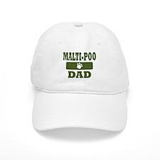 Malti-Poo Dad Baseball Cap